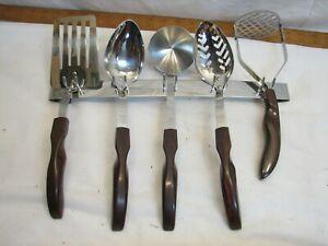 Cutco Utensils NOS Set Spoon Ladle Spatula Masher 12 13 14 15 16 Wall 17 Holder