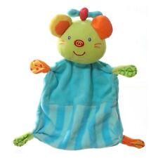Paradise Toys Maus Schmusetuch Kuscheltuch blau 21cm