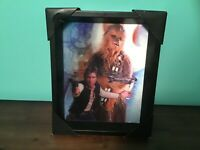 Star Wars  3-D Picture, Pyramid America Hologram Hand solo Chewbacca