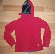 EUC! Ladies FREE COUNTRY Size Small Lined Soft Shell Jacket in Red * Detach Hood