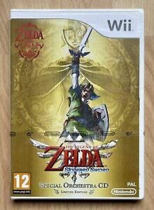 The Legend Of Zelda Skyward Sword Ltd Edn Wii Sealed Rare Mint VGA Wata Ready