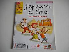 J'APPRENDS A LIRE - LE TRESOR D'AMOTEP JUIN 2008 - (SANS CD) -DES 6 ANS