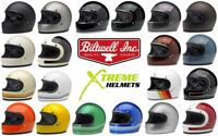 Biltwell Gringo Helmet Full Face Motorcycle DOT Vintage XS-2XL -FAST SHIP