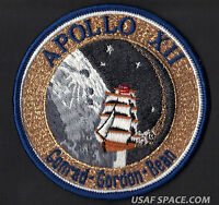 APOLLO 12 LION BROTHERS VINTAGE ORIGINAL NASA Hallmarked CLOTH BACK SPACE PATCH