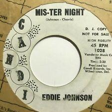 northern soul popcorn r&b 45 EDDIE JOHNSON Mis-ter Night  CANDI listen