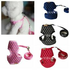 Pets Puppy Kitten Clothes Cat Walking Jacket Harness and Leash Adjustable Vest