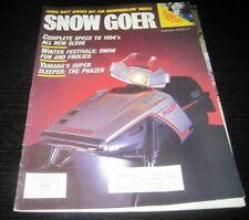New ListingVintage Snow Goer snowmobile magazine polaris yamaha ski doo john deere 1983