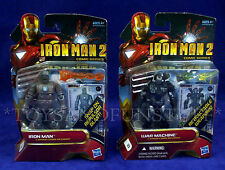 New - WAR MACHINE & 1st Appearance IRON MAN 2 Action Figures 22 23 COMIC SERIES
