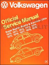 Vw Karmann Ghia manual taller 1970 1971 1972 1973 1974 Volkswagen servicio