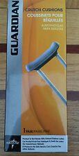 Guardian Underarm Crutch Cushions- Gray 1 pair