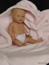 "NIB Diana ~ Berjusa Preemie Baby * Real Girl * Made in Spain 17"" All Vinyl Doll"