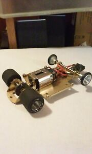 PARMA Womp Womp Slot Car (1/32 scale) Brass Chassis
