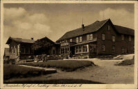 1937 Stempel Brotterode auf AK Inselberg Partie am Preussischen Hof Gasthof