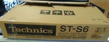 Vintage Technics St-S6 Quartz Synthesizer Am/Fm Stereo Tuner (Working) Bh166