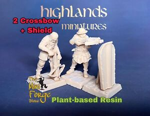 bretonnia knights, Crossbows, Highlands Miniatures