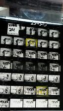 THE POINTER SISTERS VINTAGE LOT 35MM SLIDE NEGATIVE CONTACT PROOF SHEET PHOTO #