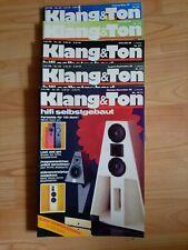 Klang und Ton -  Klang & Ton, Lautsprecher Selbstbau Magazin 1988 - 5 Stück !!!
