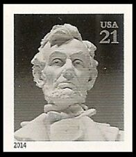US 4860a Abraham Lincoln 21c imperf NDC single MNH 2014