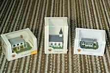 Vintage Bachmann N Scale Trains Buildings  Ranch house,  2 Story House & Church