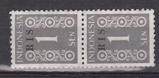Indonesie nr. 41 RIS MLH pair 1950 Republik Indonesia Serikat R.I.S NO GUM
