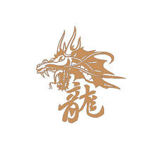 Chinese Word Dragon for Macbook Laptop Car Window SUV Wall Vinyl Decal Sticker