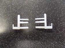 Dometic Seitz Blind End Clips/ Hooks/ Pegs (pair) - Bailey/ Caravan/ Motorhome