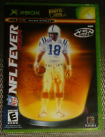 Microsoft Xbox OG NFL Fever 2004 w/Artwork, Manual, COMPLETE TESTED XSN Football