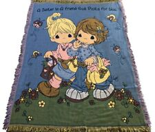 Precious Moments blanket 50x60 God sister throw tapestry FREE SHIPPING