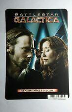 BATTLESTAR GALACTICA S3 ADAMA ROSLIN MINI POSTER BACKER CARD (NOT A movie)