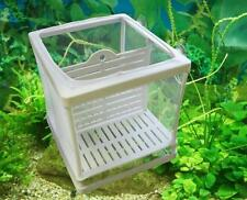 Fish Tank Plastic Frame Incubator Net Fry Hatchery Breeder Isolation Breeding