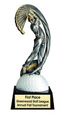 """Male Golf Resin Trophy Award 8 1/4"""" Free Lettering Available 3 Sizes M-Mx703"""