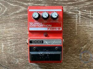 DOD FX55B, Supra Distortion, USA, 1984-1987, Vintage Guitar Effect Pedal