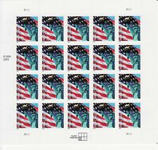 UNITED STATES FLAG STAMP SHEET -- USA #3966 FIRST CALSS MAIL