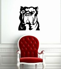 Wall Stickers Vinyl Decal Dog Pet Animal Bulldog Pitbull ig1521