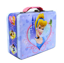 Disney Princess Cinderella Lunch Box Gift Bag Trinket Keepsake Jewelry Case NEW