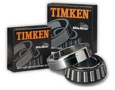 TIMKEN WHEEL BEARING FRONT FORD F100 BRONCO 1/74-88 250 CARBY 4WD V8 CLEVELAND