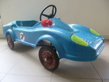1970 FERRARI PEDAL CAR PLASTIC BODY MADE IN GREECE EXCELLENT NEW MINT