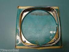 NOS 1969 1970 69 67 Grand Prix Pontiac Headlight Lamp Bezel LH Outer 9796291