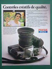 12/1980 PUB ASAHI PENTAX MX APPAREIL PHOTO CAMERA ORIGINAL FRENCH AD