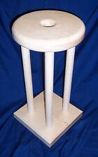 "Kumihimo Braiding Table ONLY (Marudai) 16"" High - 8"" Diameter Hard Maple"