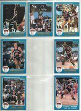 1985-86 Star Company New York Knicks 7-card Team Set  Patrick Ewing RC