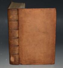 Col Bladen C Julius Caesar's Commentaries of his Wars in Gaul Fine Binding 1750