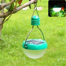 Solar Powered Outdoor 7 LED Hanging Rotatable Travel Camping Lantern Lamp Light