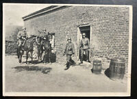 1940 Poland Germany GG RPPC Postcard cover to Munich Waffen SS Police East