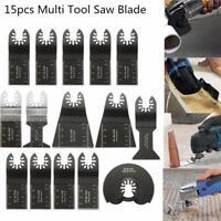 Set 15 Lame sega oscillante Tool Saw Blade Fein Bosch Makita Milwaukee Makita
