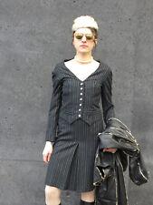 exclusiv fff Damen Kleid Nadelstreifenkleid 90er TRUE VINTAGE 90s women's dress