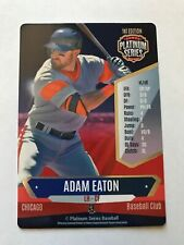 ADAM EATON 2015 PLATINUM SERIES BASEBALL GAME CARD, WHITE SOX