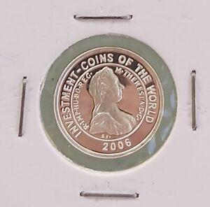 MALAWI RARE SILVER PROOF 5 KWACHA COIN 2006 YEAR KM#118.5 MARIA THERESIA THALER