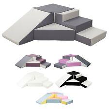 4 Großbausteine Schaumstoffbausteine Spielbausteine Bauklötze Rutsche-Set
