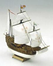 "Classic, Mini Wooden Model Ship Kit by Mamoli: the ""Santa Maria"""